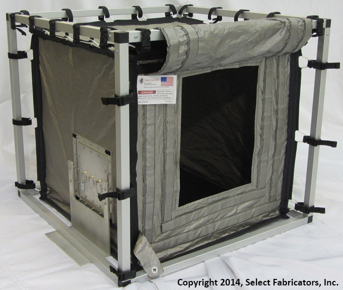 RF / EMI Shielded Tabletop Enclosure by Select Fabricators, Inc.