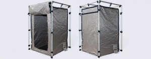 RF EMI Shielding Tent with Double Magnet Closure