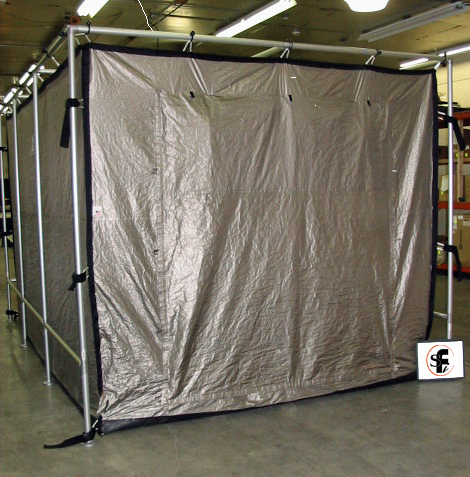 Select-A-Shield portable RF EMI shielding enclosure with patented double door design