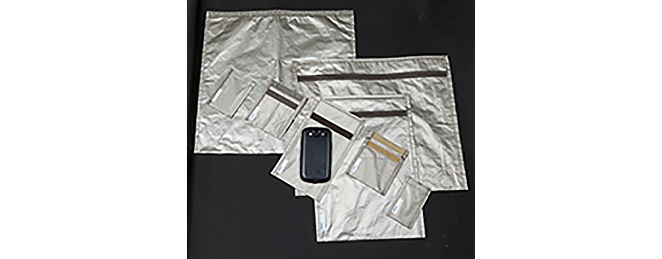 RF / EMI shielding pouches from Select Fabricators, Inc.