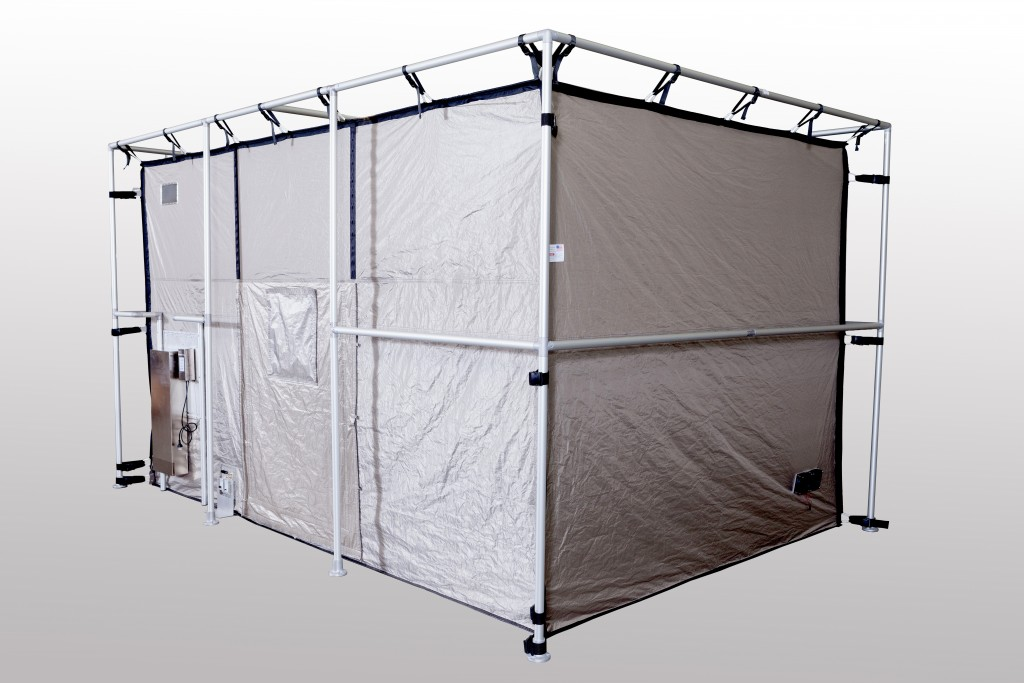 RF Shielded Tent Enclosure with Shielded Window and High Perform