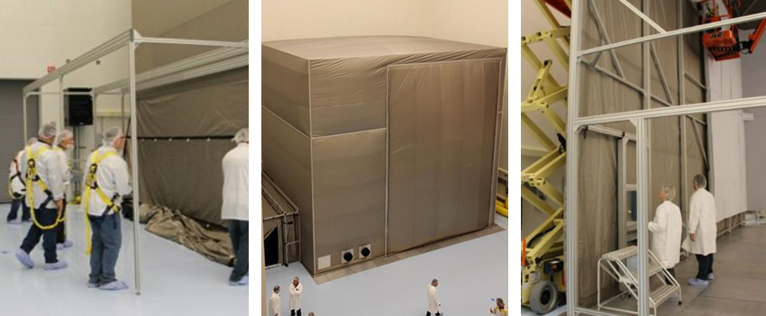 Modular EM RF Shielded Enclosure from Select Fabricators, Inc.