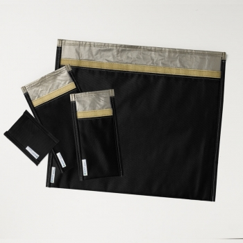 RF/EMI Shielded Pouches in a variety of sizes